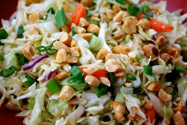 Thai Style Coleslaw