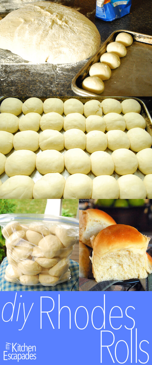 Frozen Dinner Rolls Homemade Rhodes Rolls Recipe
