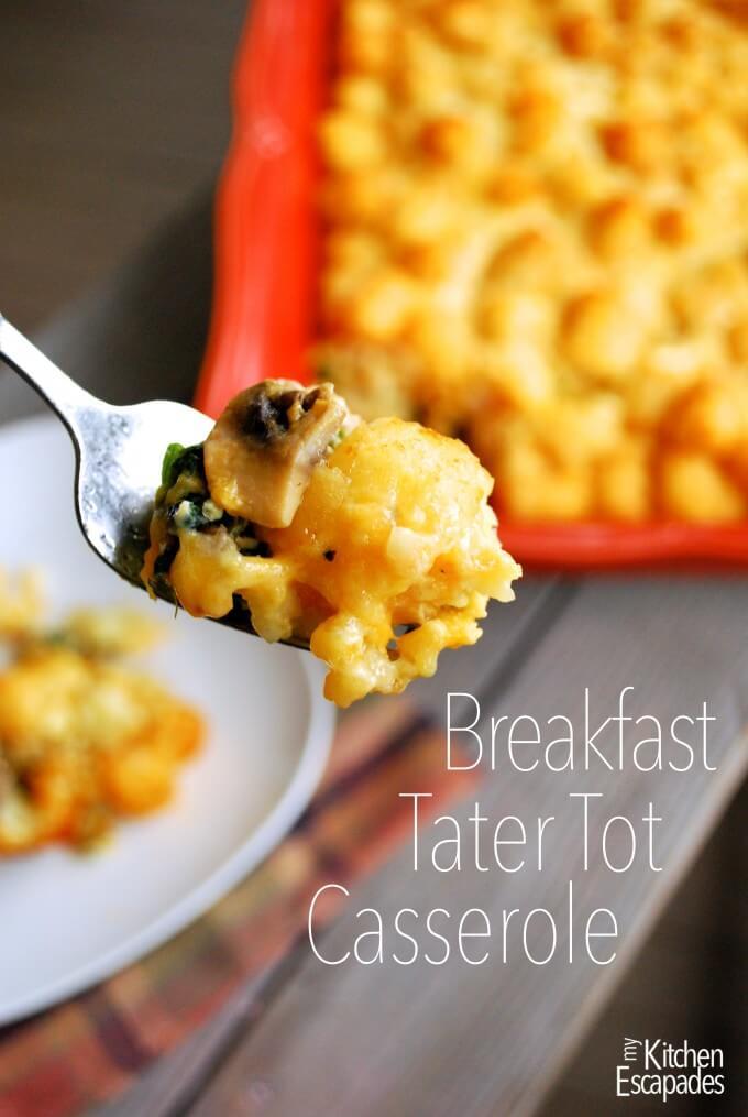 Breakfast Tater Tot Casserole