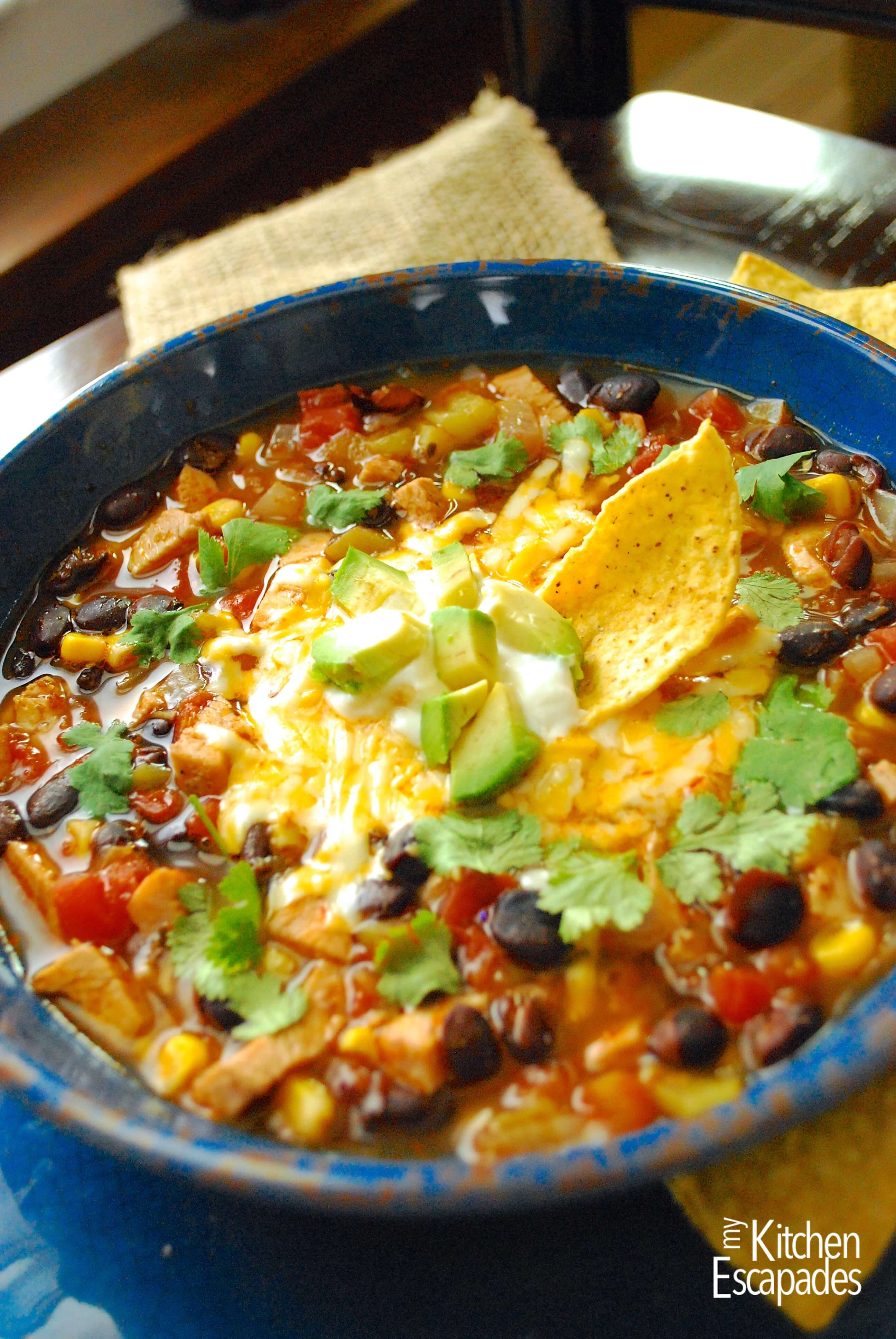 Southwest Chicken Soup Easy Chicken Tortilla Soup Recipe