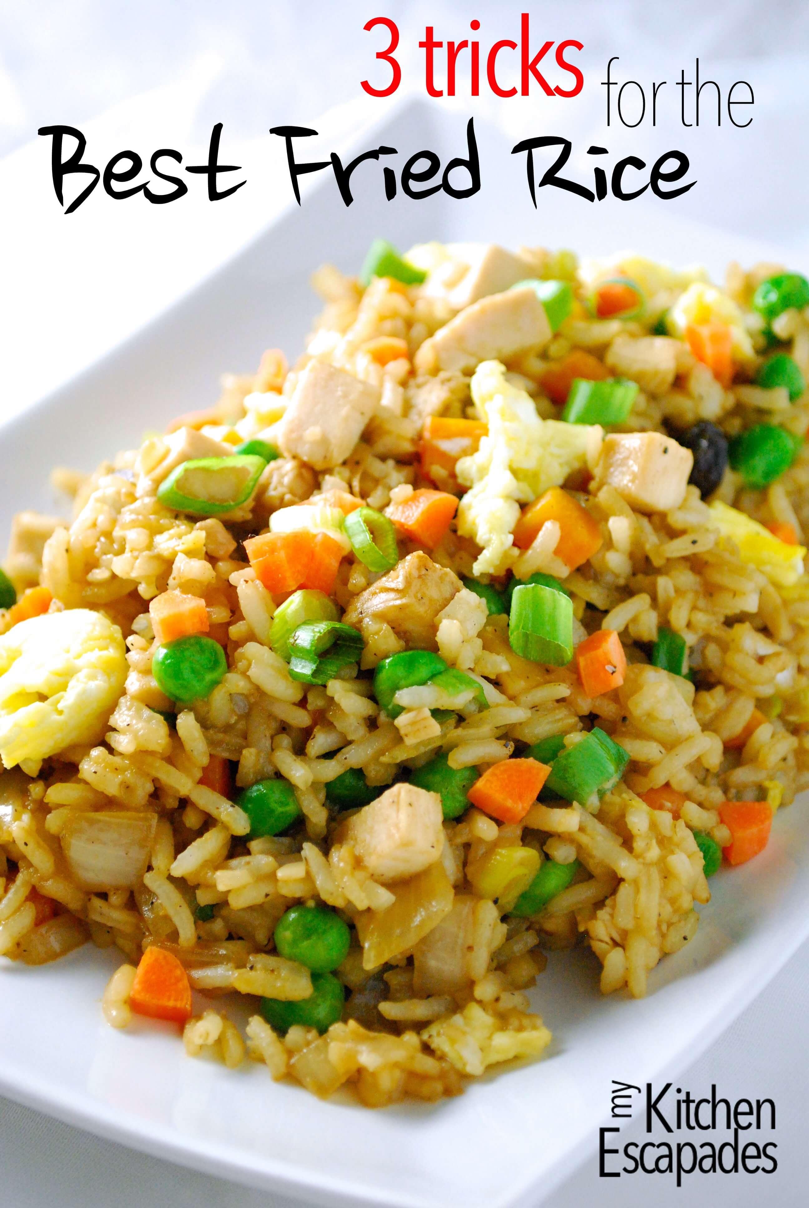 Best Chicken Fried Rice