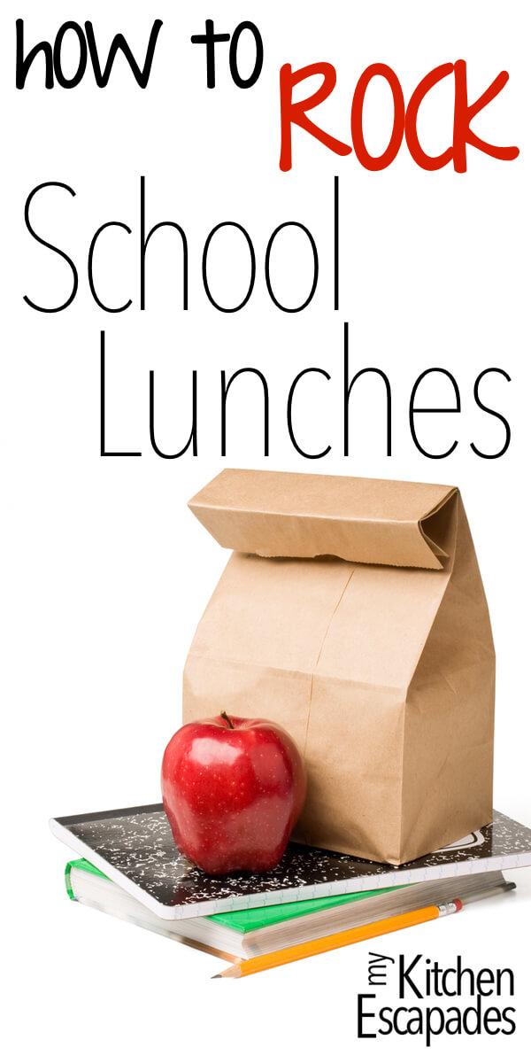 How to ROCK School Lunch