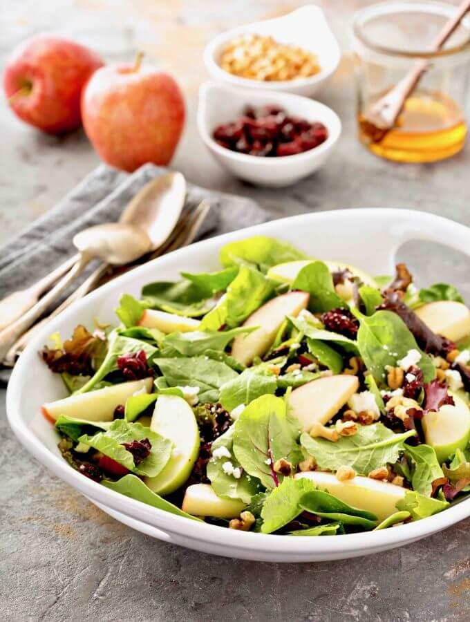 Pear Salad Recipe | Fall Salad Recipes