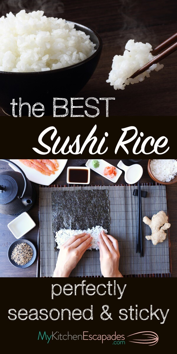 THE BEST SUSHI OR STICKY RICE RECIPE