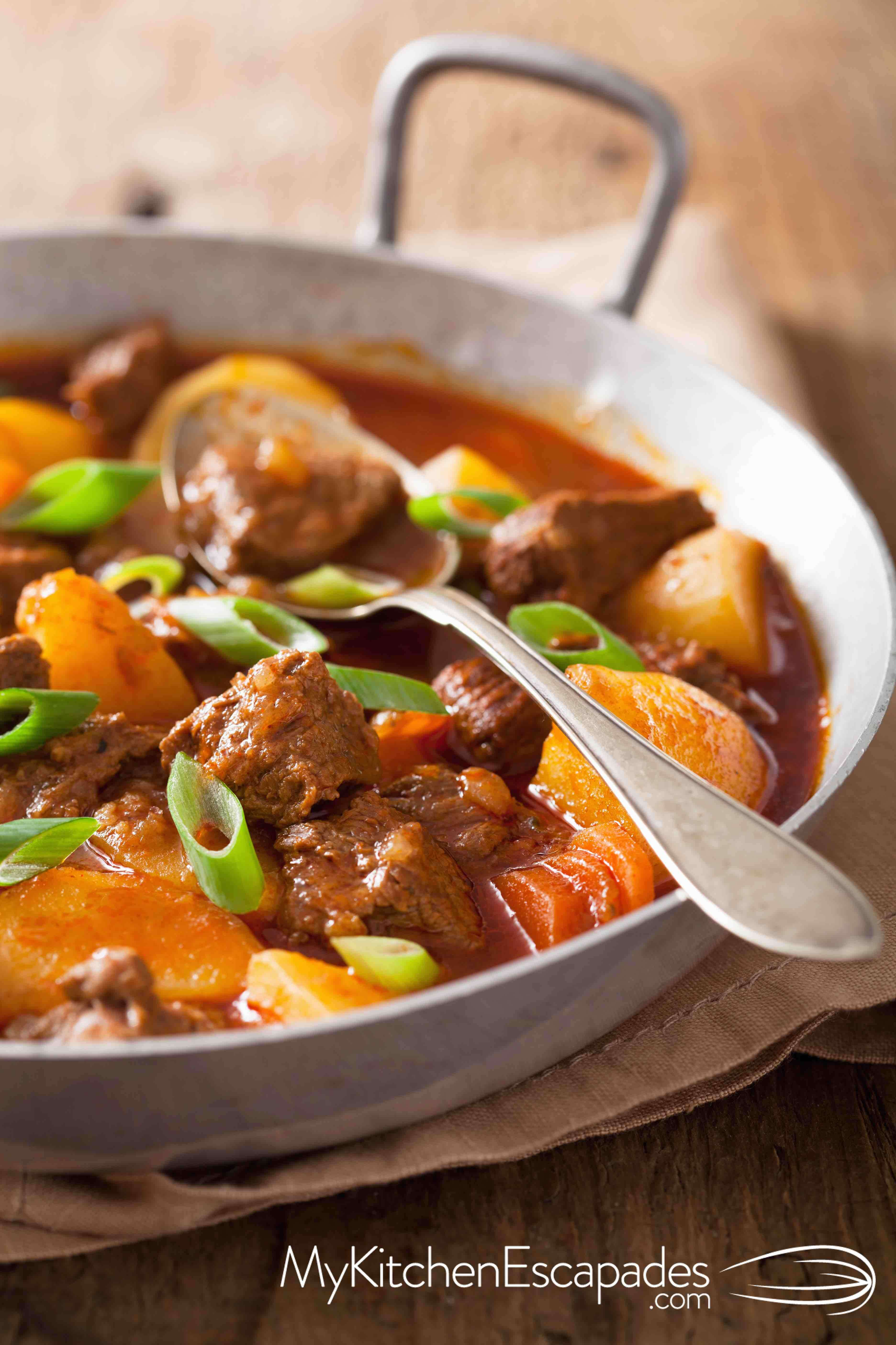 Hearty Beef Stew with Yukon Gold Potatoes