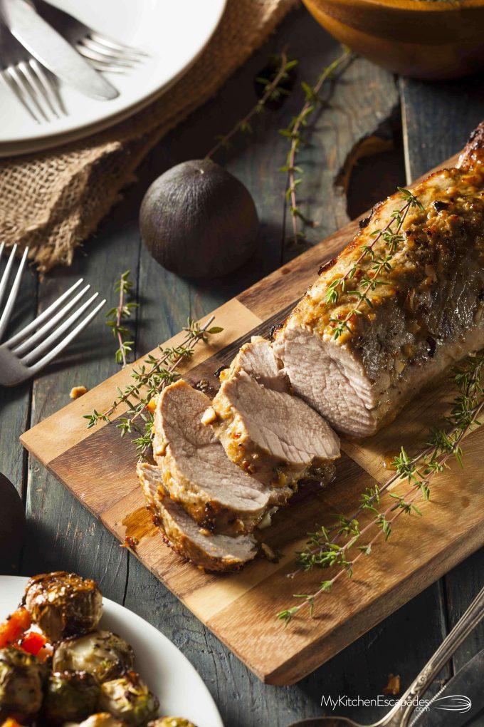 The Perfect Pork Loin Roast