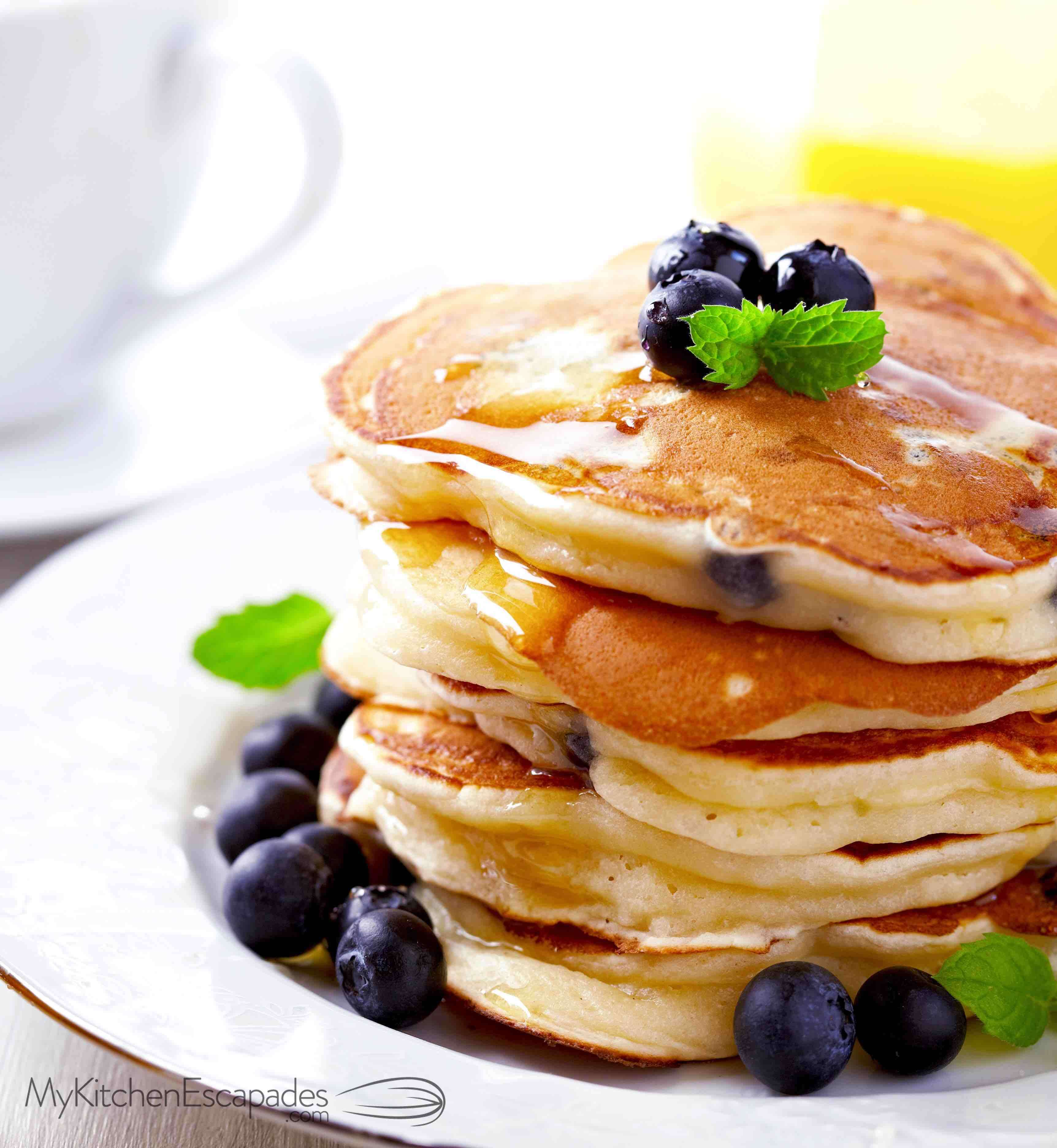 How To Make Pancakes From Scratch A Delicious Easy And Homemade Recipe