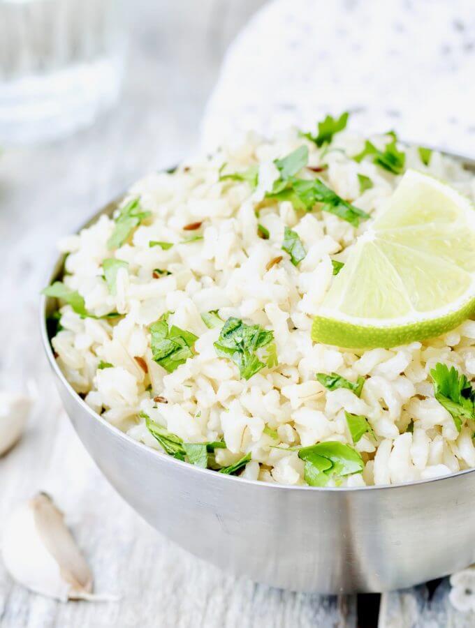 Cilantro Lime Rice recipe
