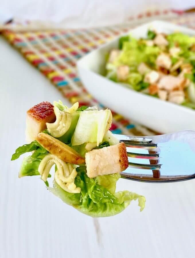 Asian Ramen Salad | Napa Cabbage Salad | VIDEO