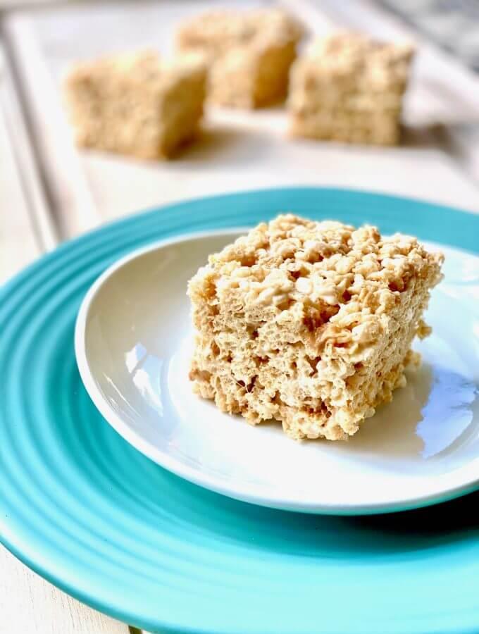 Butterscotch rice krispies treats