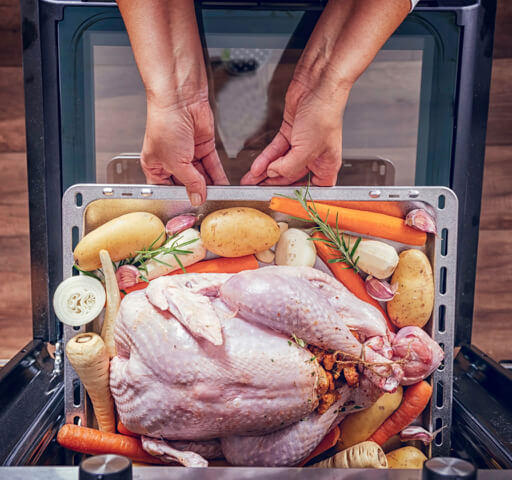 free thanksgiving oven timing schedule