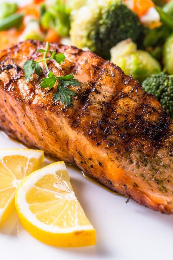 Healthy Salmon Marinade